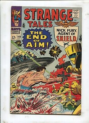 Strange Tales #149 - The End Of A.i.m.! - (7.5) 1966