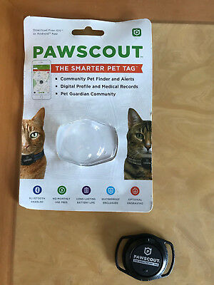 Pawscout Smarter Pet Tag (Dog or Cat Tag)  BRAND NEW