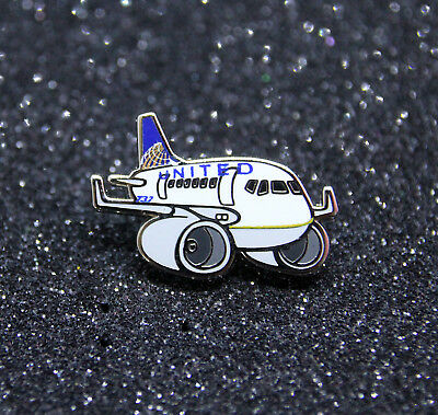 Pin CHUBBY pudgy UNITED AIRLINES Boeing B737 1 inch / 27mm metal Pin