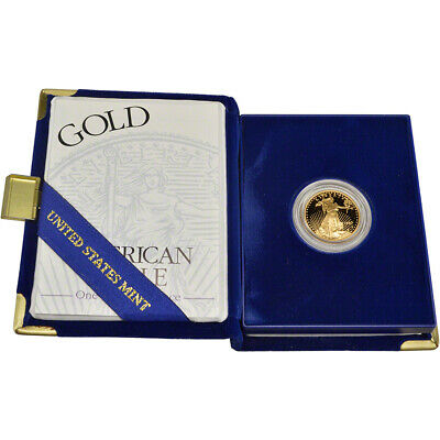 1997-W American Gold Eagle Proof (1/4 oz) $10 in OGP