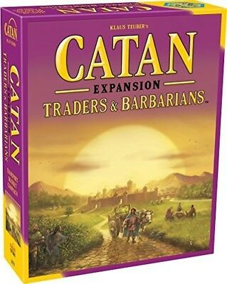 Catan Expansion: Traders and Barbarians [New Games] Board Game