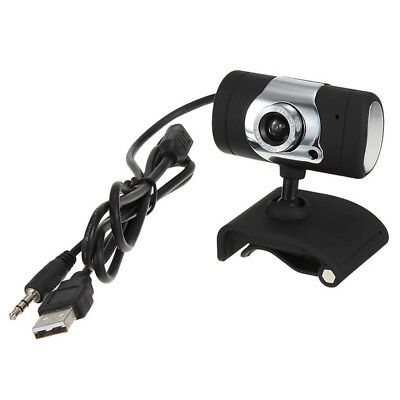 3.0 Mega Pixel USB with microphone Webcam HD Camera for Notebook Laptop PC B5V4