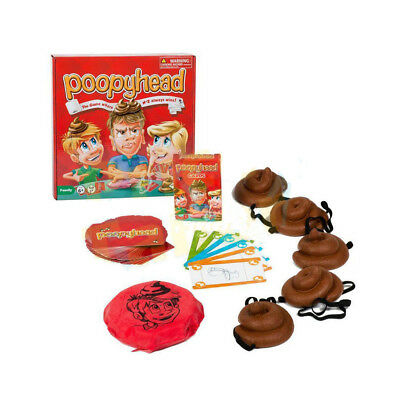 Poopyhead Kids Family Funny Board Games Poopy Head Doggy Poo Card Game