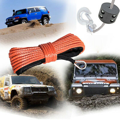 2 ATV UTV Winch Fairlead Saver Rubber Line Stopper Synthetic Rope 3000 4000 8000