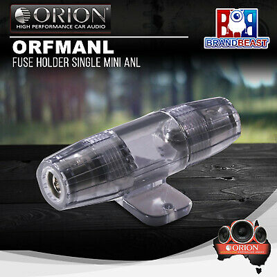 Orion ORFMANL Anl Fuse Holder 4GA  Water Resistant Construction Sealed Acrylic