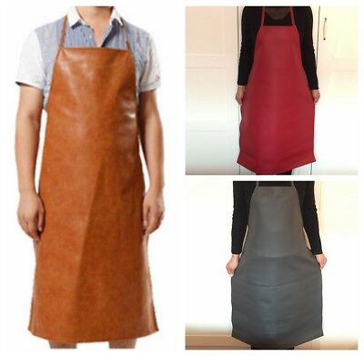 Heat Insulation Protection Leather Welding Apron Equipment Welder Apron Kitchen