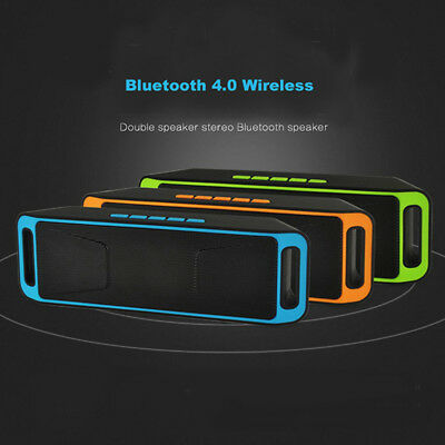 Bluetooth Speakers Portable Wireless MP3 Player USB TF Card FM Radio Stereo -lot