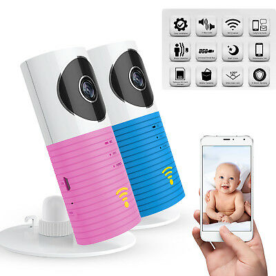 1080P HD IP Wireless Smart WiFi CCTV Camera Video Baby Monitor 2 way Speaker