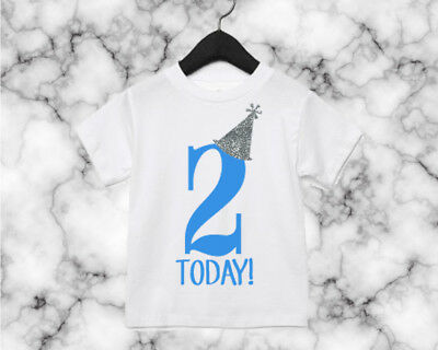 Toddler Birthday T Shirt Any Age Party Had Pyjamas 1st 2nd 3rd 4th 5th Top AS10