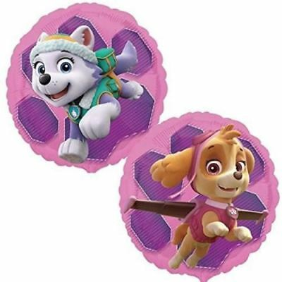 Amscan Paw Patrol Pink Birthday Party Decoration Helium Giant Foil Balloon
