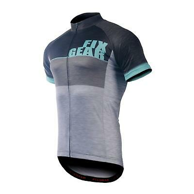 FIXGEAR CS-G1302 Men s Short Sleeve Cycling Jersey Bicycle Apparel Roadbike  MTB 35e9eec8e