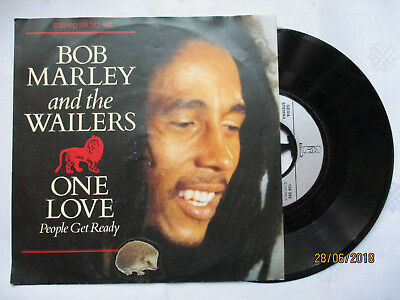 Single Von Bob Marley And The Wailers One Love/ People Get Ready- So Much