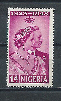Nigeria , 1948 ,  Silver Wedding Issue , Stamp  Perf , Vlh
