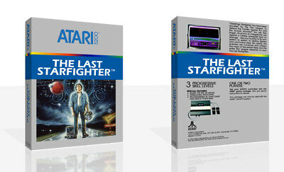The Last Starfighter Atari 5200 Replacement Game Case Box + Cover Art (No Game)