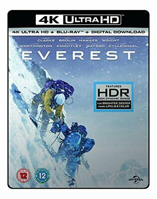 EVEREST- (4K UHD +BD + UV) RT VERSION [Blu-ray] [2017] - DVD  SVVG The Cheap