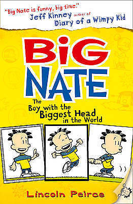 The Boy with the Biggest Head in the World (Big Nate, Book 1), New, Peirce, Linc
