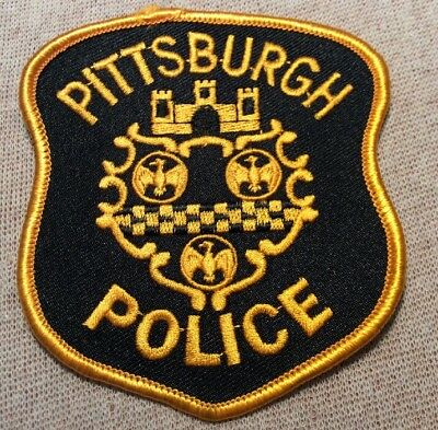 PA Pittsburgh Pennsylvania Police Patch (4In)