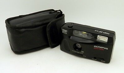 Olympus TRIP AF S-2 35mm Compact Camera 34mm DX Lens - FULLY WORKING #2710