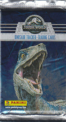 Panini - Jurassic World Movie 2 - Trading Cards - 1 Booster