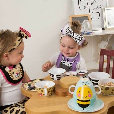 Izzy and Owie 4pc Stackable Dinner Set Baby Toddlers