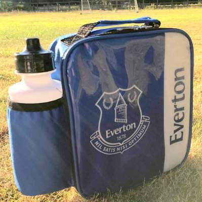 Everton Vertical Lunch Bag/Box and 600ml Bottle Set | Everton Lunchbox