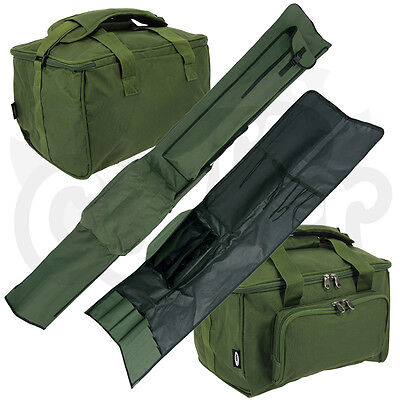NGT Carp Fishing Padded 3 + 3 Rod Holdall for 12ft Rods Tackle Carryall Bag Set