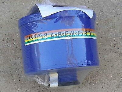 Best Israeli NBC / CBRN Gas Mask Filter [40mm NATO] Brand New/Sealed Exp 11/2022