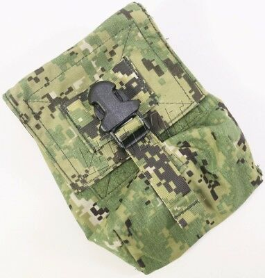 NEW Eagle Industries AOR2 M60 Gunners Pouch w/Elastic Top MOLLE Navy SEAL DEVGRU
