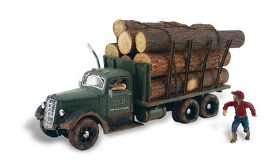 Woodland Scenics AS5553 HO Tim Burr Logging Vehicle Figure Built & Ready /