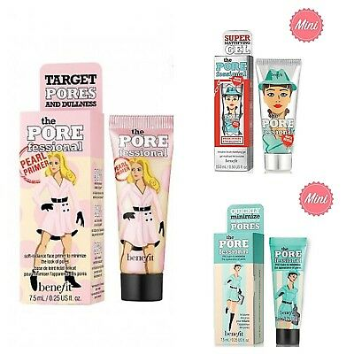 ❤Benefit Porefessional: Pearl Primer 7.5 ml, Matte Rescue 15 ml - AUTHENTIC❤