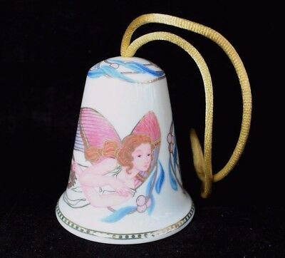 Lladro Angel Bell Ornament Celestial Music Christmas Holiday Retired