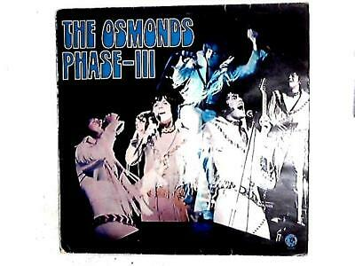 Phase III LP (The Osmonds - 1972) 2315 075 (ID:15301)