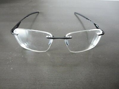 23606dc87c Oakley Wingfold EVS 139 ox5115-0253 Rimless Eyeglass Frames in Satin Black