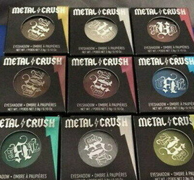Kat Von D metal crush eyeshadow new in box 0.10 oz select your shade