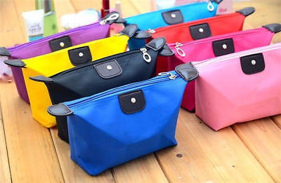 Travel Cosmetic bag Small Cosmetic Case Makeup bag Toiletry Organizer 6 colour