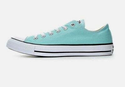 0193ea687790 NEW Converse CHUCK TAYLOR All Star Low Top Men s 10 Canvas Sneakers ARUBA  BLUE