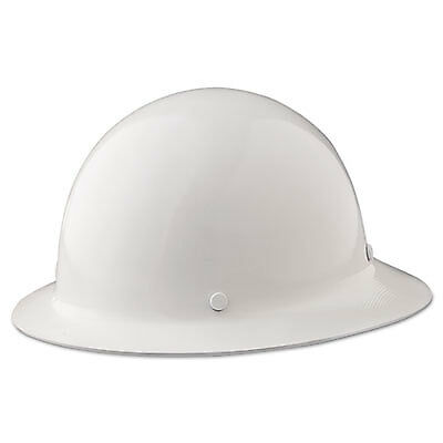 Skullgard Protective Hard Hats, Ratchet Suspension, Size 6 1/2 - 8, White 475408