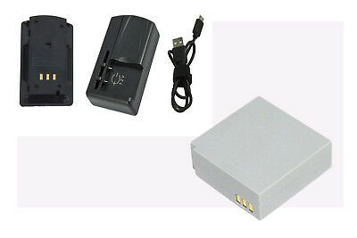 Battery+Charger for SAMSUNG SC-MX20R SMX-F30 SMX-F300BP SMX-F300LP IA-BP85ST