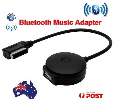 Bluetooth Music Audio Wireless Adaptor MP3 USB Reader For Audi AMI Car Vehicle