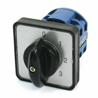 Panel Mount 5-Position Universal Rotary Cam Changeover Switch CA10 0-1-2-3-4