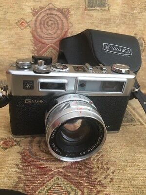 Yashica Electro 35 GSN 35mm Rangefinder Film Camera with 45mm 1.7 Lens
