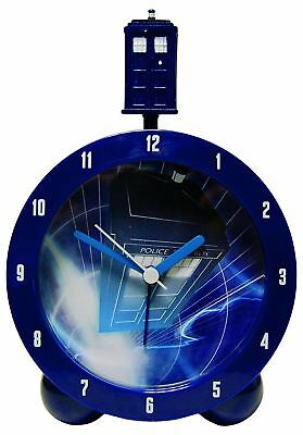Doctor Dr Who Tardis Topper Child's Analogue Battery Operated Kids Alarm Clock