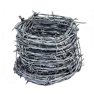 Apollo Barbed Wire 25m to 50m (1.7mm Thick) Security Garden Livestock Fence