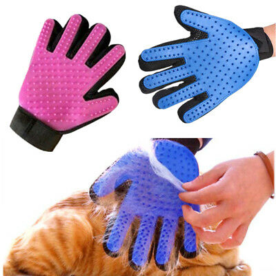 Pet Dog Cat Cleaning Brush Grooming Magic Glove Deshedding Bath Massage Tool