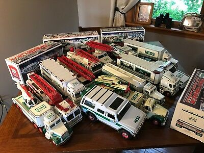 Hess Trucks 1989 - 2009.  All tested and working!