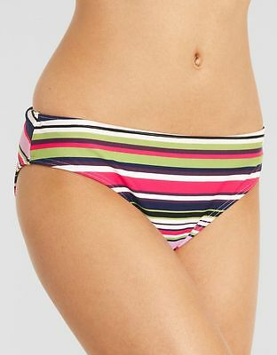 af667cc7f7 JUST PEACHY FIGLEAVES Tequila Sunrise CLASSIC BIKINI BRIEF Swim Pink BRAND  NEW