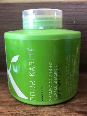 Pour Karite Natural Gentle Shampoo For Babies/Children 200ml Cruelty Free