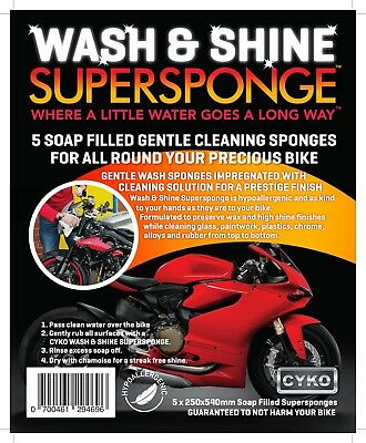 Wash & Shine SuperSponge (Bike)