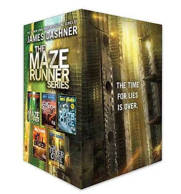 The Maze Runner Series Complete Collection Boxed Set - James Dashner DHL-Versand