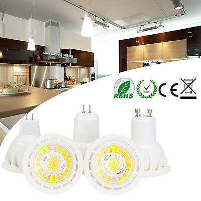 10W LED COB Spotlight Bulbs E27 E26 MR16 GU10 110V 220V 12V 60W Equivalent Lamps